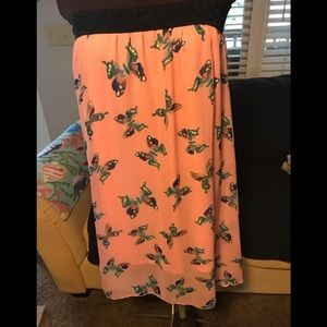 LuLaRoe Lola Skirt in large.